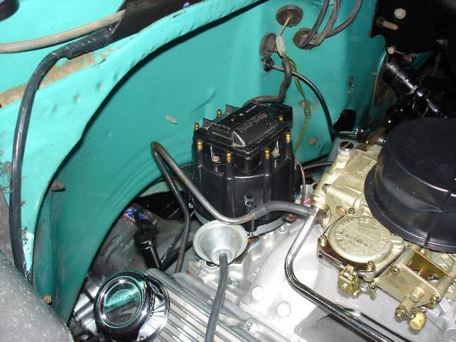 Where to hook up vac lines on new carb - The 1947 - Present