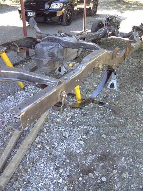 Faaqidaad : 1955 chevy truck s10 frame swap