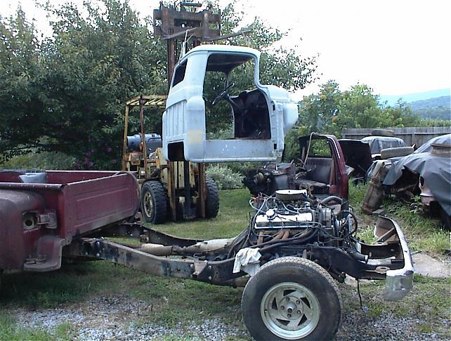79 Chevy Truck Frame On 56 Truck Project Need Help The